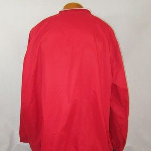 charles River Jackets & Coats - Charles River Men's 3XL Accubow Red Pullover